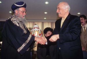 3. Fethullah Gülen and Eliyahu Bakshi-Doron in 1998