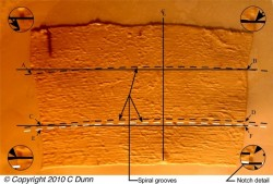 4. Comparing Ancient Egyptian drill marks with marks created using methods used by Egyptologists