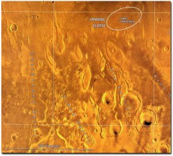 1046-Streamlined-Erosional-Residuals-on-Mars