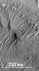 1050a-Drumlinoid-feature-on-Mars,-centered-at-204-deg.-W-x-3.6-deg-N.-Themis-mapping