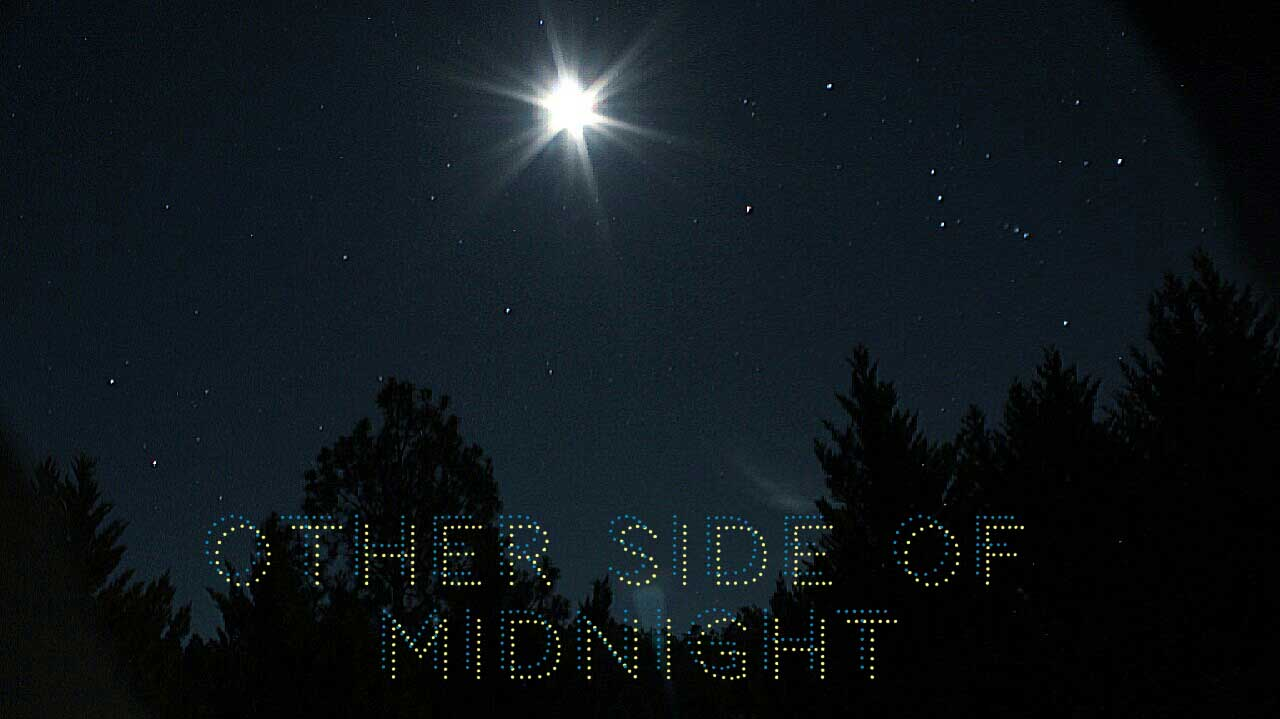 Other Side of Midnight Sky Poster