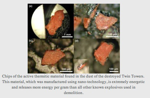 2 - Red-Gray Nanothermite Chips from WTC dust