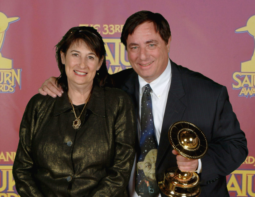 3 SATURN AWARDS - PAUL & HOLLACE2