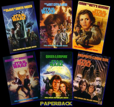 4 LAUGHLIN - PAUL & HOL STAR WARS BOOKS