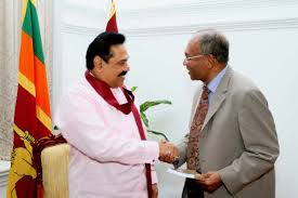 Sri Lankan President and Chandra