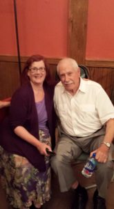 11. Mike Gravel and Barbara Honegger at NYC Symposium by Kate Sobolewski for NoLies Radio 9 12 2015