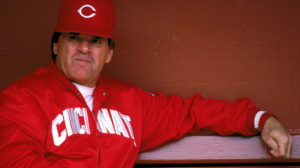 Manager Pete Rose