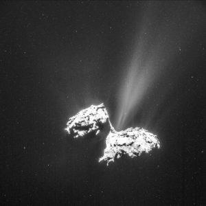 Comet on February 6, 2015 NavCam
