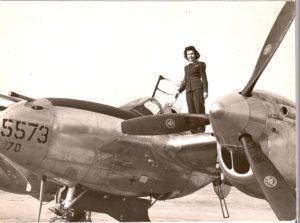 10. Dorothy on P-38