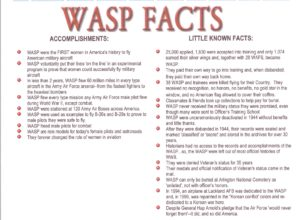16. WASP 20Facts