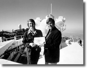 1. Richard Hoagland and Gene Roddenberry at Kitt Peak, Arizona, circa 1975