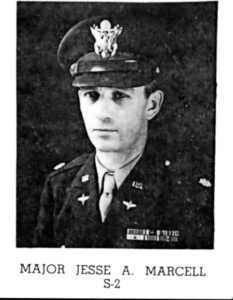 5. Maj. Jesse Marcel, the intelligence officer for the 509th BG at RAAF, was the first military person at the crash site. He broke his silence in 1978