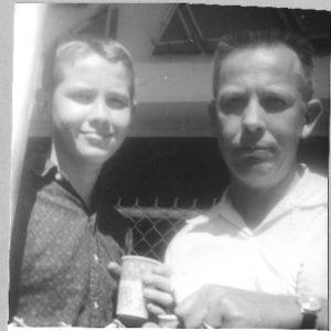 7. Copy of M David and Merlin circa 1962