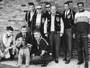 4. Sheeran (upper left) with fellow Teamsters organizers at his first job in Detroit