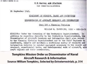 2. Bill Tompkins - Mission Orders