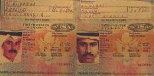 17. Alleged Pentagon Plane Hijacker Al Midhar Photo-ID