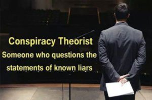 23. Conspiracy Theorist Re Definition Poster