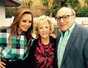 Leah Remini with Paulette Cooper and her husband, Paul Noble