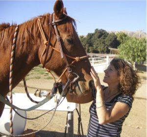 Lori with Horse 2