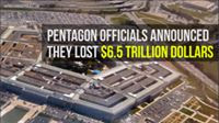 22. Pentagon Lost 6.5 TRILLION