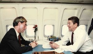3. Roger Stone and Ronald Reagan on Air Force 1
