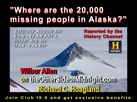 2017/08/05 –  Wilbur Allen – Where are 20,000 Missing People in Alaska? – Remembering Jim Marrs