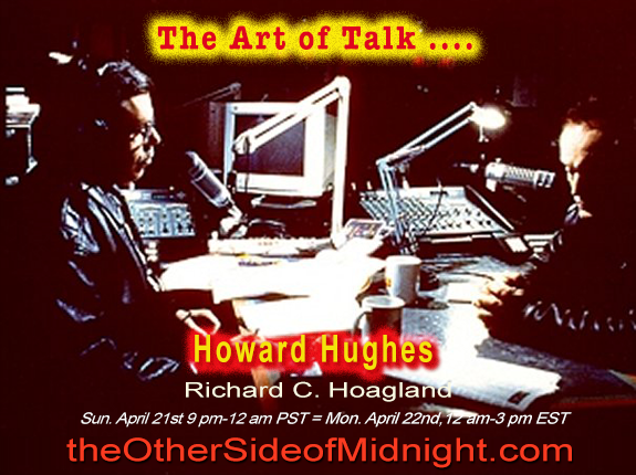 2018/04/21 – Howard Hughes – The Art of Talk ….