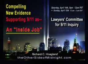 """2018/04/14 – Lawyers' Committee for 9/11 Inquiry – Compelling New Evidence Supporting 9/11 as– An """"Inside Job?"""""""