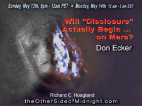 "2018/05/13 – Don Ecker – Will ""Disclosure"" Actually Begin … on Mars?"