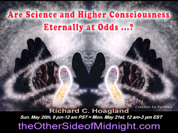 2018/05/20 – Kelly Em, Walter Jenkins, Georgia Lambert & Kynthea – Are Science and Higher Consciousness Eternally at Odds …?