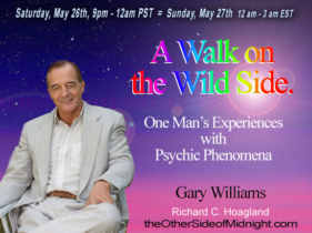 2018/05/26 – Gary Williams – A Walk on the Wild Side