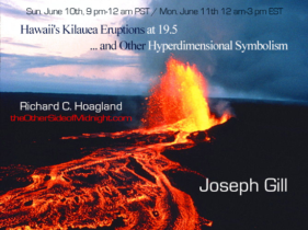 2018/06/10 – Joseph Gill –   Hawaii's Kilauea Eruptions at 19.5 … and Other Hyperdimensional Symbolism
