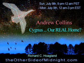 2018/07/08 – Andrew Collins – Cygnus … Our REAL Home?