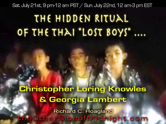 "2018/07/21 – Christopher Loring Knowles and Georgia Lambert – The Hidden Ritual of the Thai ""Lost Boys"" …."