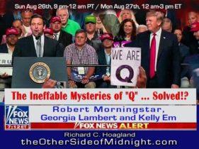 """2018/08/26 – Morningstar – Lambert – Em – The Ineffable Mysteries of """"Q"""" … Solved!?"""