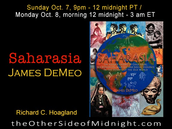 2018/10/07 – Dr. James DeMeo – Saharasia