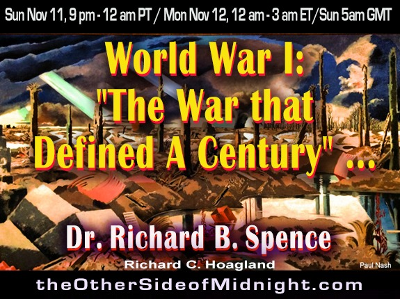 "2018/11/11 – Dr. Richard B. Spence – World War I: ""The War that Defined A Century"" …."