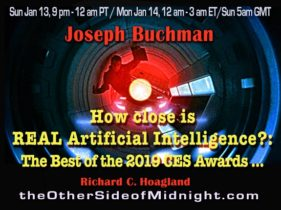 2019/01/13 – Joseph Buchman, PhD – How close is REAL Artificial Intelligence?: The Best of the 2019 CES Awards …