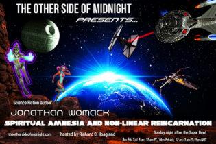 2019/09/28 – Jonathan Womack – Spiritual Amnesia and Non-Linear Reincarnation