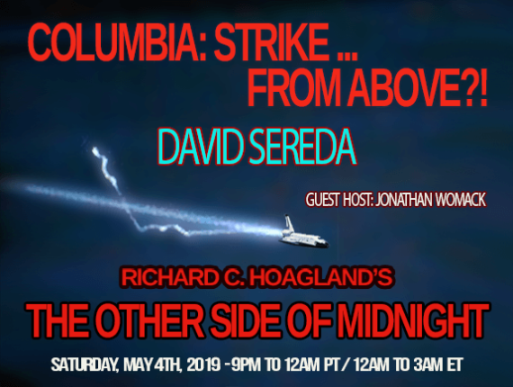 2019/05/04 – David Sereda – Columbia: Strike … from Above?!