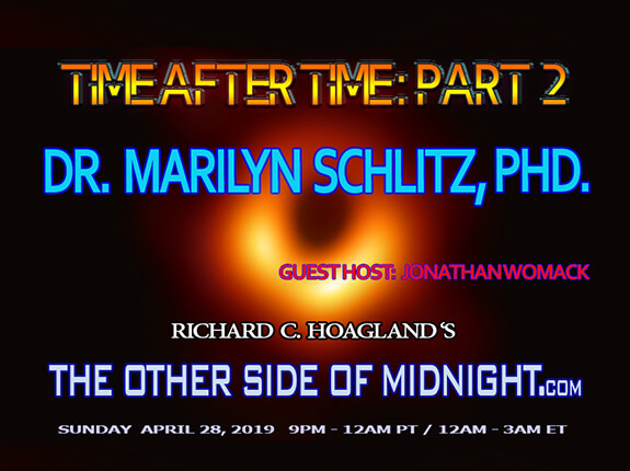 2019/04/28 – Dr. Marilyn Schlitz, PHD – Time After Time – Part 2