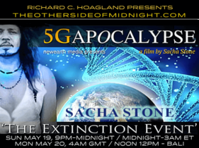 "2019/05/19 – Sacha Stone,Thomas J. Brown & Mark Steele – Guest Host-Kynthea – 5G Apocalypse – ""The Extinction Event"""