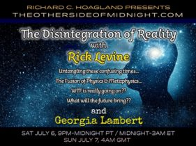 2019/07/06 – Rick Levine and Georgia Lambert – The Disintegration of Reality