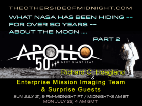 2019/07/21 – EM – What NASA Has Been Hiding — for Over 50 years — About the Moon ….PART 2
