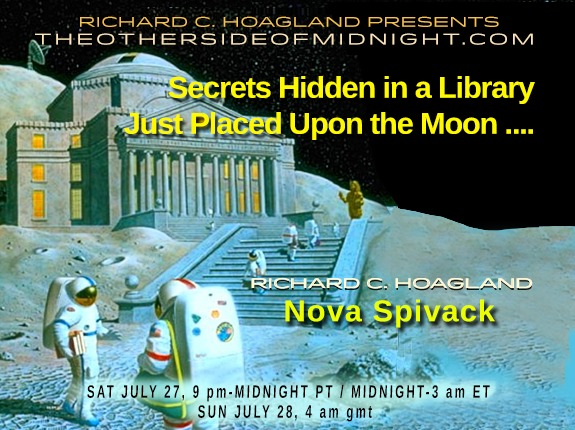 2019/07/27 – Nova Spivack – Secrets Hidden in a Library Just Placed Upon the Moon ….