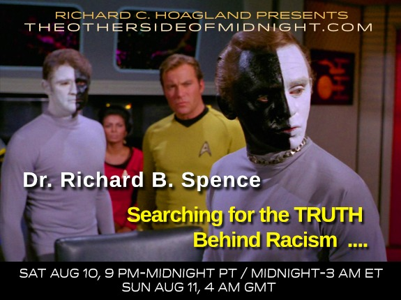 2019/08/10 – Dr. Richard Spence – Georgia Lambert – Searching for the TRUTH Behind Racism  ….