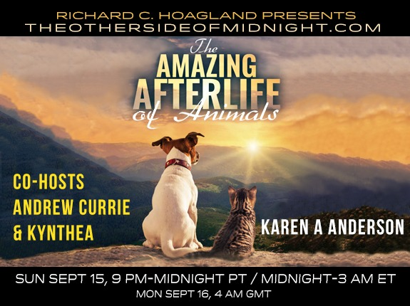 2019/09/15 – Karen A. Anderson – The Amazing Afterlife of Animals – Co-Hosts: Andrew Currie & Kynthea