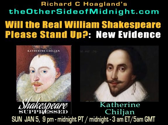 2020/01/11 – Katherine Chiljan – Will the Real William Shakespeare Please Stand Up?: New Evidence
