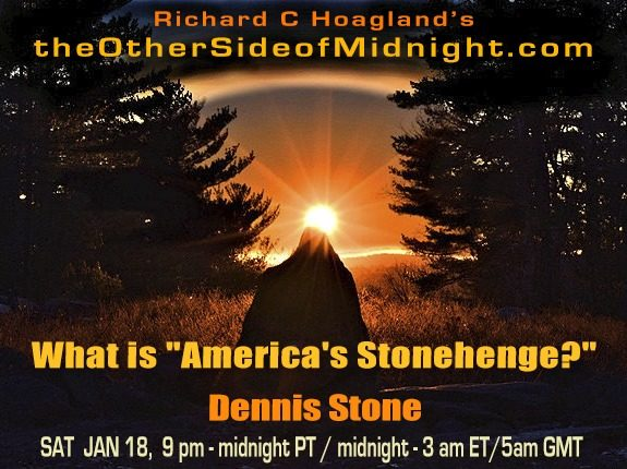 "2020/01/18 – Dennis Stone – What is ""America's Stonehenge?"""