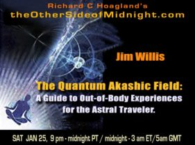 2020/01/25 – Jim Willis & Georgia Lambert – The Quantum Akashic Field: A Guide to Out-of-Body Experiences for the Astral Traveler